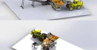 Высокая мобильность бетонного завода Mobil 35-PLNT