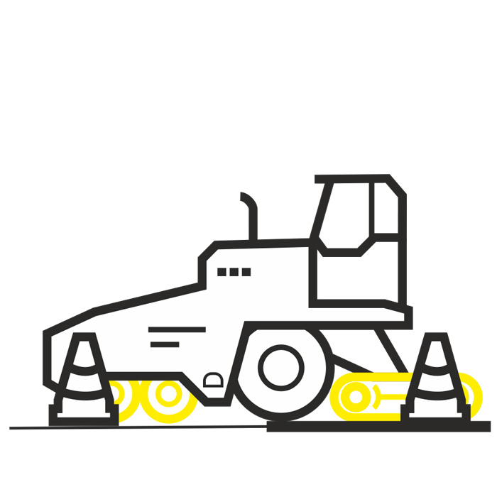 Оборудование для дорожных работ